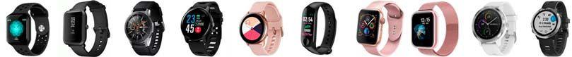 Most common smartwatch colors