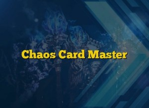 Chaos Card Master