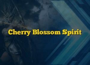 Cherry Blossom Spirit