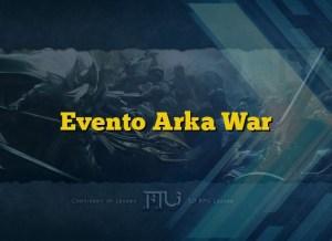 Evento Arka War