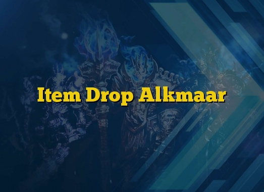 Item Drop Alkmaar