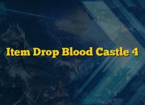 Item Drop Blood Castle 4