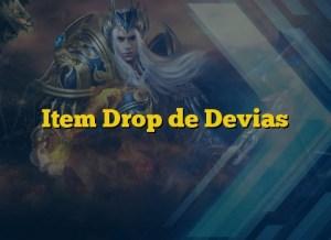 Item Drop de Devias