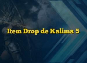 Item Drop de Kalima 5