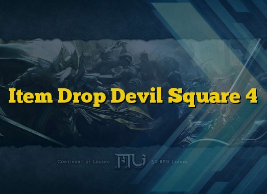 Item Drop Devil Square 4