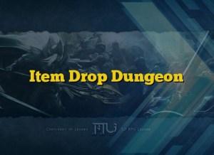 Item Drop Dungeon