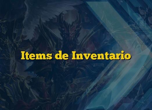 Items de Inventario