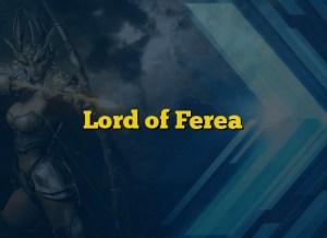 Lord of Ferea