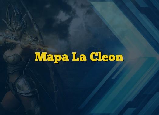 Mapa La Cleon