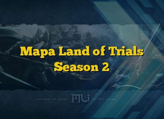 Mapa Land of Trials Season 2