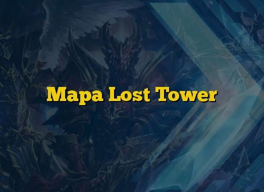 Mapa Lost Tower
