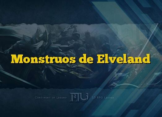 Monstruos de Elveland