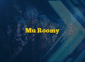 Mu Roomy