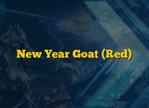 New Year Goat (Red)