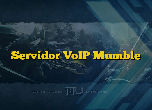 Servidor VoIP Mumble