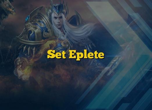 Set Eplete