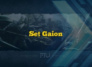 Set Gaion