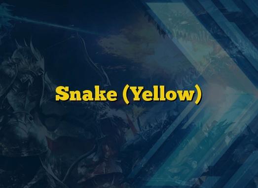 Snake (Yellow)