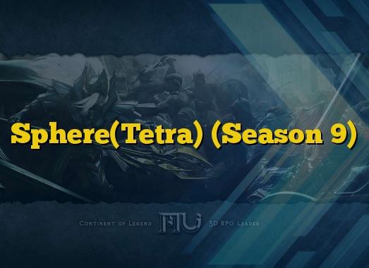 Sphere(Tetra) (Season 9)