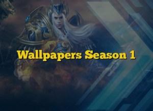 Wallpapers Season 1