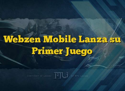 Webzen Mobile Lanza su Primer Juego