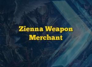 Zienna Weapon Merchant