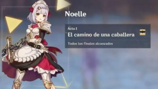 Genshin Impact Todos los recuerdos en el encuentro con Noelle: El camino de una caballera