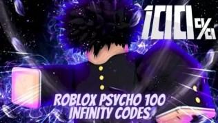 Roblox Psycho 100 Infinity – Lista de Códigos Mayo 2021