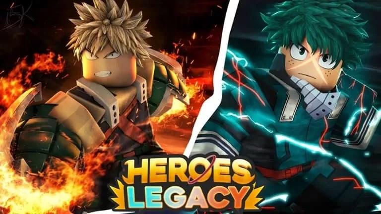 Roblox Heroes Legacy Secret - Lista de Codigos Mayo 2021