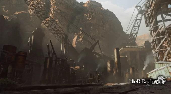 NieR Replicant Remaster – Misión secundaria La fuente deteriorada