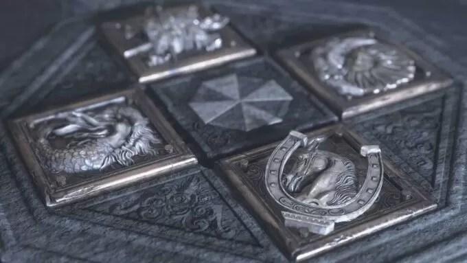 Resident Evil 8 Village - Solución del puzle de los cilindros de la Caja de Música