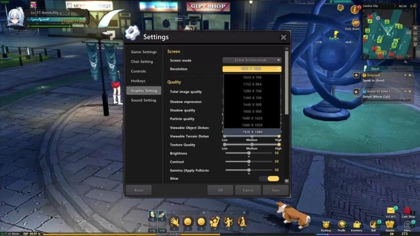 Soulworker Cómo arreglar la resolución de pantalla completa