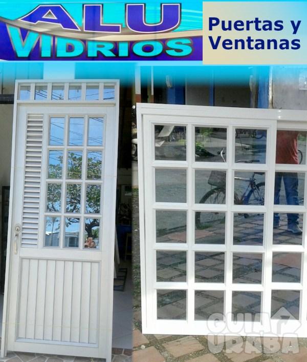 Puerta y ventana en aluminio - Aluvidrios