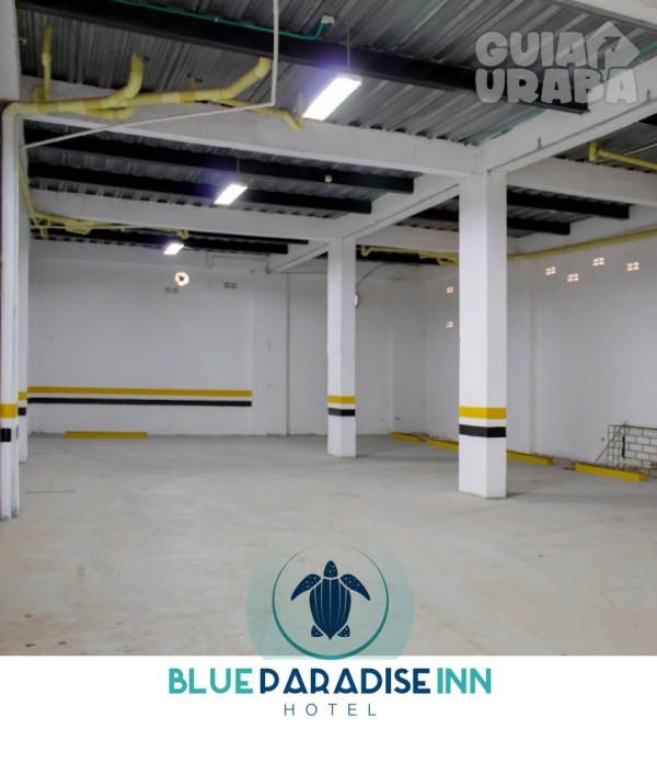 Parqueadero - Hotel Blue Paradice