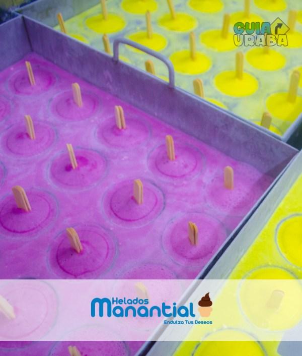 helados de mora y maracuya