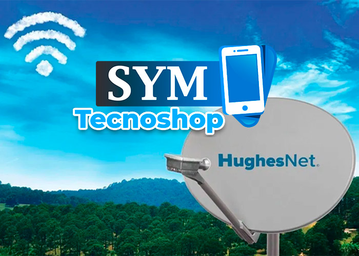SYM Tecnoshop Internet satelital en Urabá - Turbo