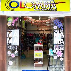 Fachada de la tienda de calzado Calzado Colombia
