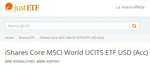 iShares Core MSCI World UCITS
