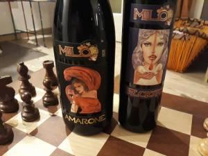 L'Amarone e il Recioto firmati da Milo Manara