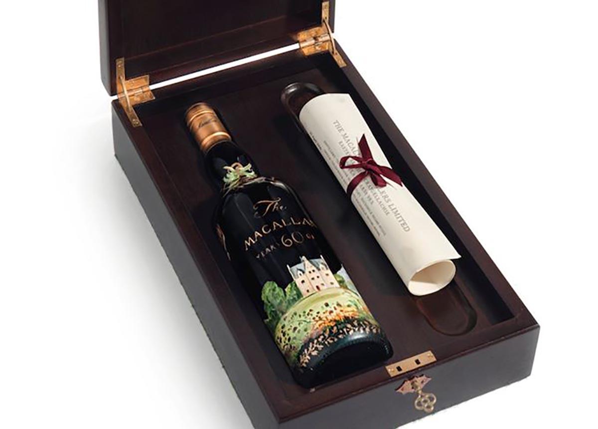 Una bottiglia di whisky Macallan? Vale anche 1,3 milioni di euro