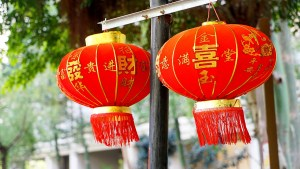 Lanterne rosse per il capodanno cinese, foto da pixabay
