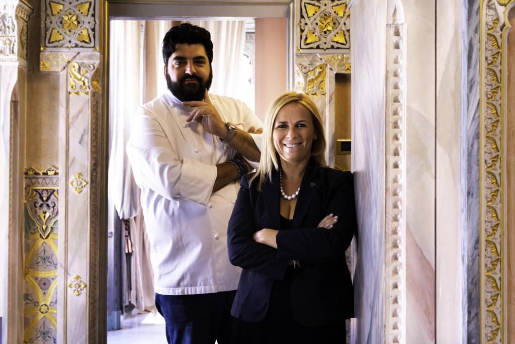 Lo Chef Cannavacciuolo, titolare di Villa Crespi