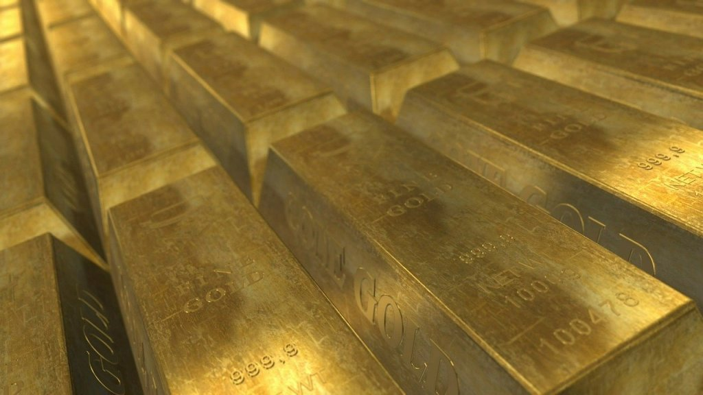 Lingotti d'oro, foto generica da Pixabay