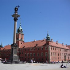La Colonna del re Sigismondo venne eretta nel 1644. È un buon punto di incontri a Varsavia.