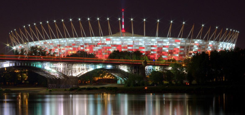 Lo stadio nazionale è stato costruito per gli Europei del 2012. La sua capacità è di 58.000 posti.