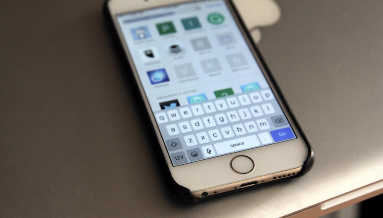 IPhone-да астаналық және кіші әріп деген не?
