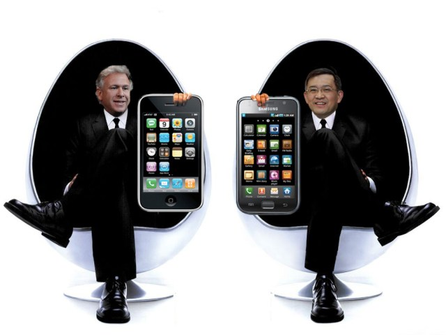 Samsung et Apple