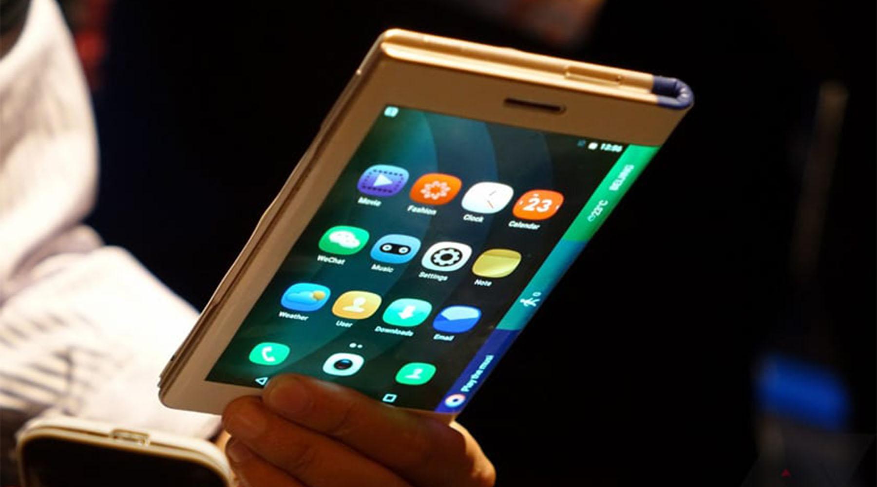 marque LG smartphone pliable