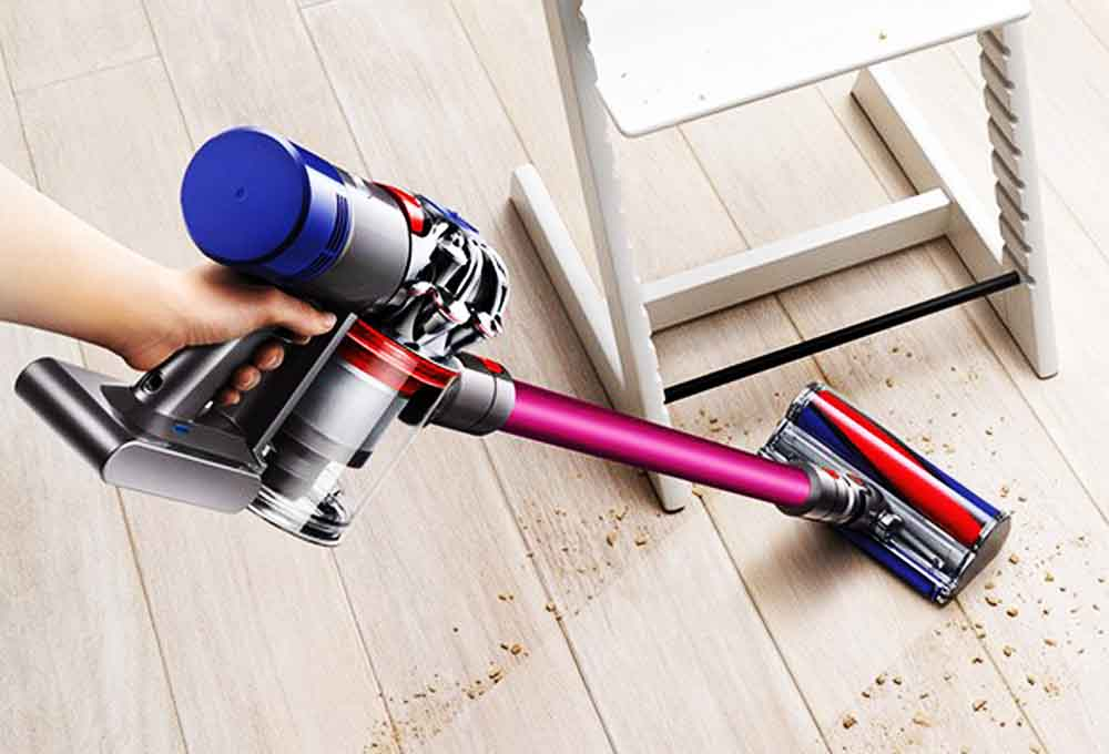 dyson v8 absolute pro test de cet aspirateur balai qui a. Black Bedroom Furniture Sets. Home Design Ideas