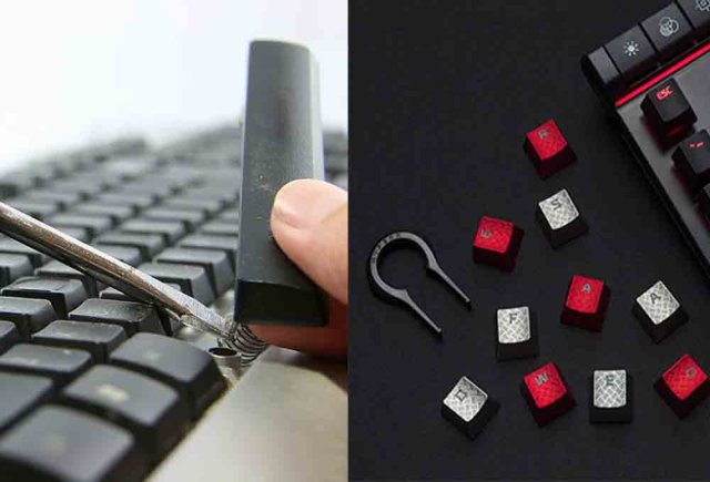 nettoyage clavier de gaming